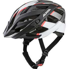Alpina Panoma 2.0 L.E. Helmet black-white-neon red